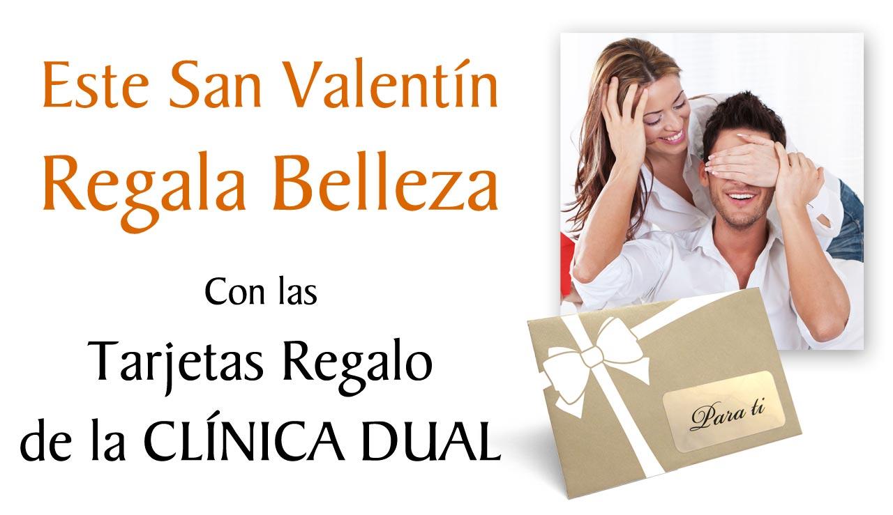 Este San Valentín Obsequia Belleza con nuestra Tarjeta-Regalo de Tratamientos Estéticos | Clínica Dual Valencia